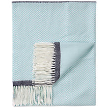 Buy Pure Collection Herringbone Cashmere Scarf Online at johnlewis.com
