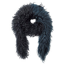 Buy Jigsaw Sheepskin Scarf Online at johnlewis.com