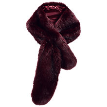 Buy Pure Collection Faux Fur Scarf Online at johnlewis.com