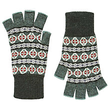 Buy Brora Cashmere Fingerless Gloves Online at johnlewis.com