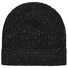 Buy Brora Donegal Cashmere Ribbed Hat Online at johnlewis.com