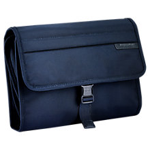 Buy Briggs & Riley Deluxe Toiletry Kit Travel Bag, Blue/Navy Online at johnlewis.com