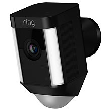 Buy Ring Spotlight Cam Smart Security Camera with Built-in Wi-Fi & Siren Alarm, Wired Online at johnlewis.com
