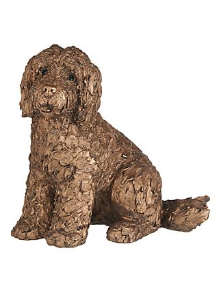 Frith Sculpture Lucy Cockapoo Dog by Adrian Tinsley, H20cm, Bronze