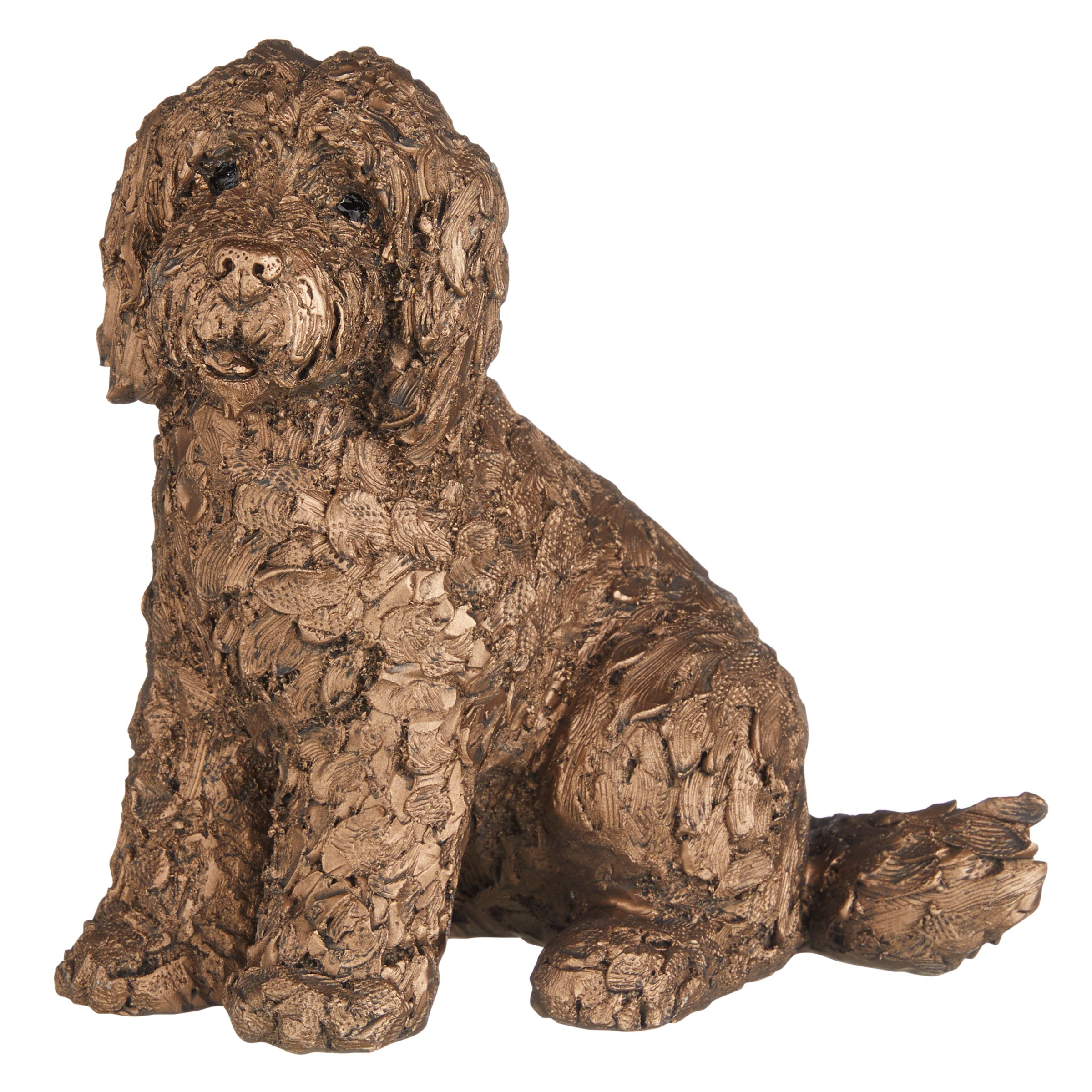 Frith Sculpture Frith Sculpture Lucy Cockapoo Dog by Adrian Tinsley, H20cm, Bronze