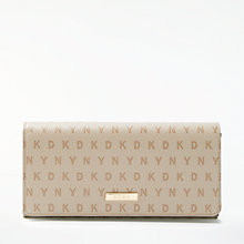 Buy DKNY Logo Large Carryall Purse, Eggnog Online at johnlewis.com