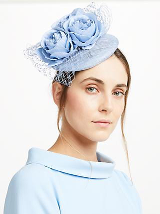 John Lewis   Partners Sophie Pillbox Rose Fascinator 739a490d3c5