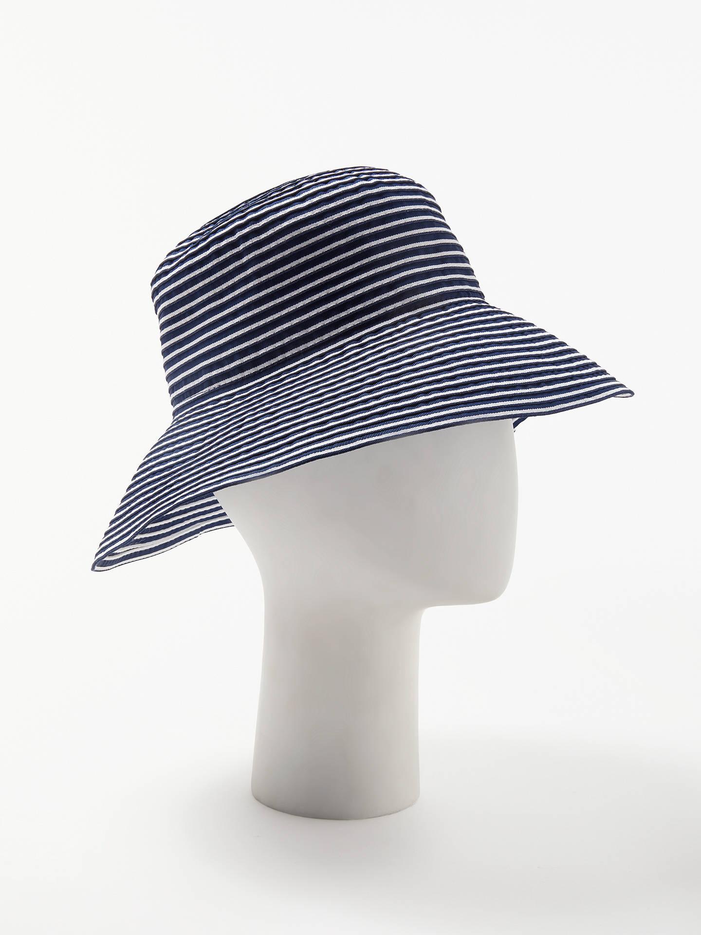e87e807ed5a15 ... france buyjohn lewis packable stripe floppy sun hat navy white online  at johnlewis 04a66 c53fb