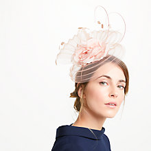 Buy John Lewis Thea Crinkle Crin Flower Fascinator Online at johnlewis.com