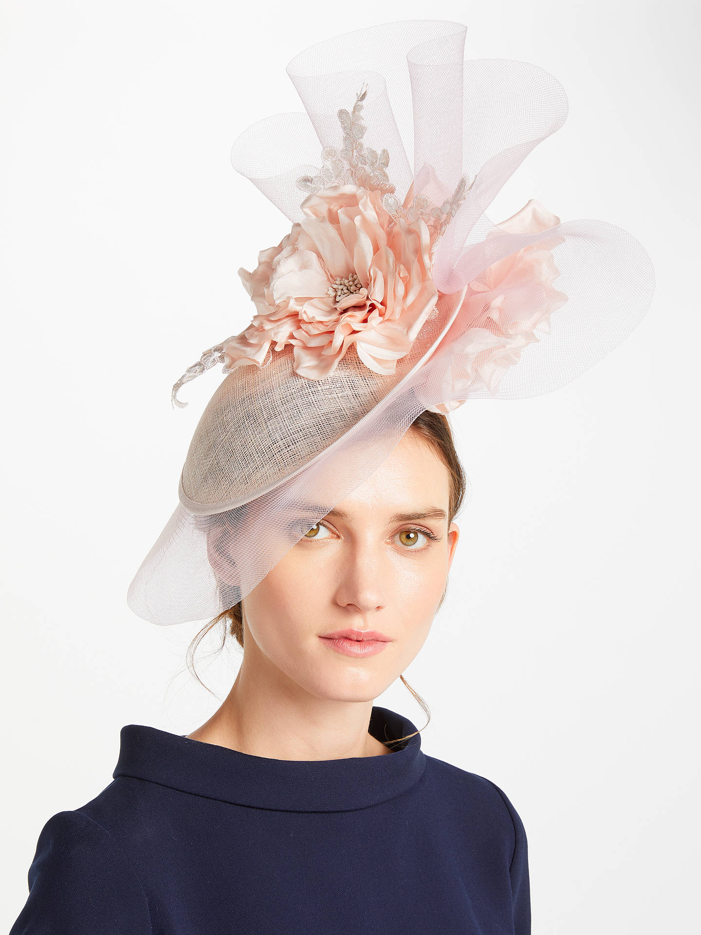 a5f61c3c91b Peter Bettley Viola Side Up Crin Detail Occasion Hat at John Lewis ...