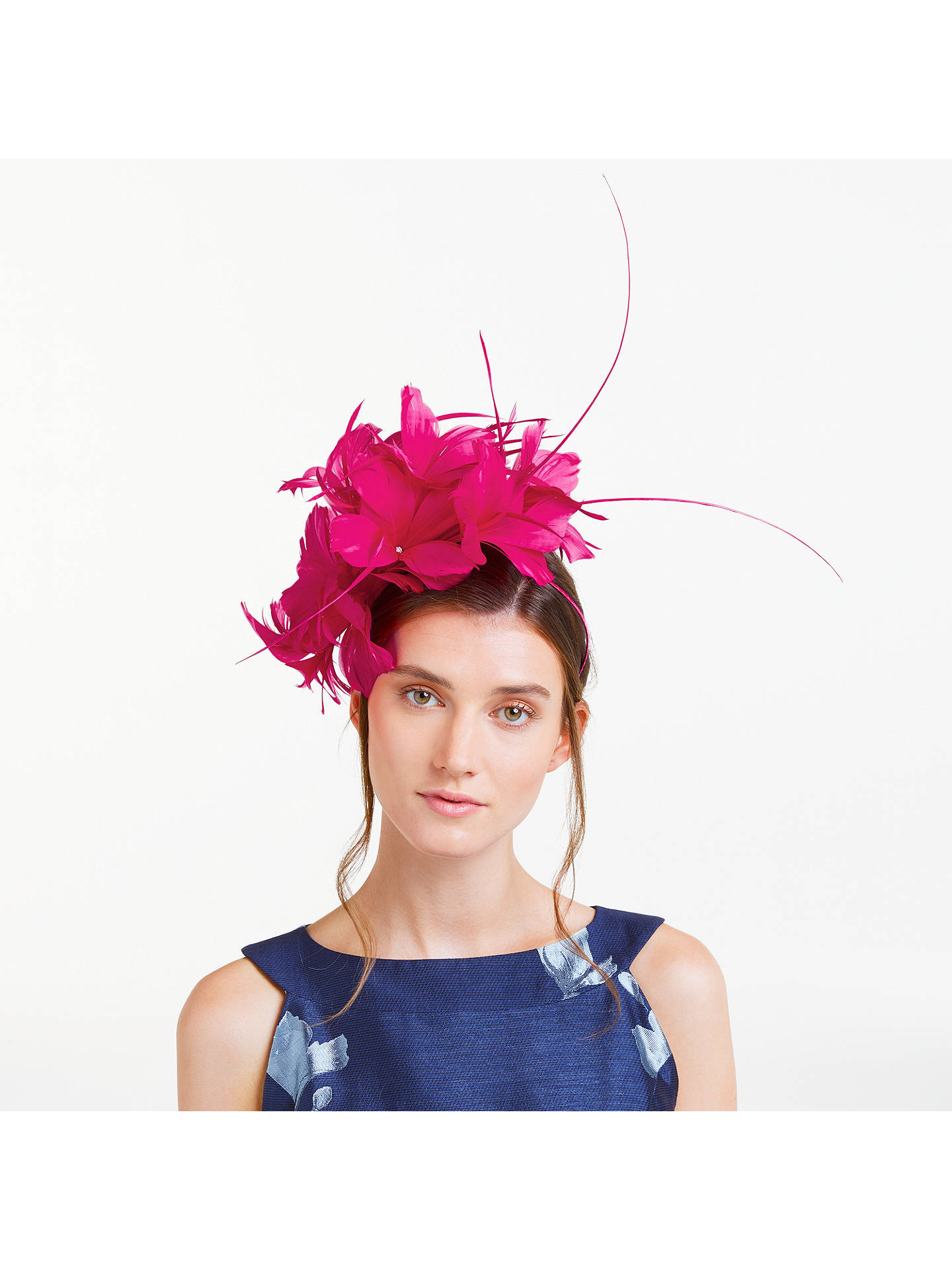 John Lewis   Partners Ivy Feather Headband Fascinator at John Lewis ... 2be217af693