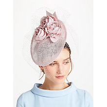 Buy John Lewis Penny Small Peony Disc Fascinator Online at johnlewis.com