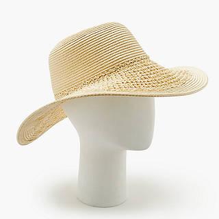 11b3c557d9d John Lewis Packable Weave Mix Floppy Sun Hat