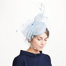 Buy John Lewis Sianne Sinamay Pillbox Veil Bow Fascinator Online at johnlewis.com