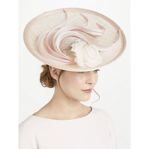 Whiteley April Upturn Disc Occasion Hat Blush Online At Johnlewis