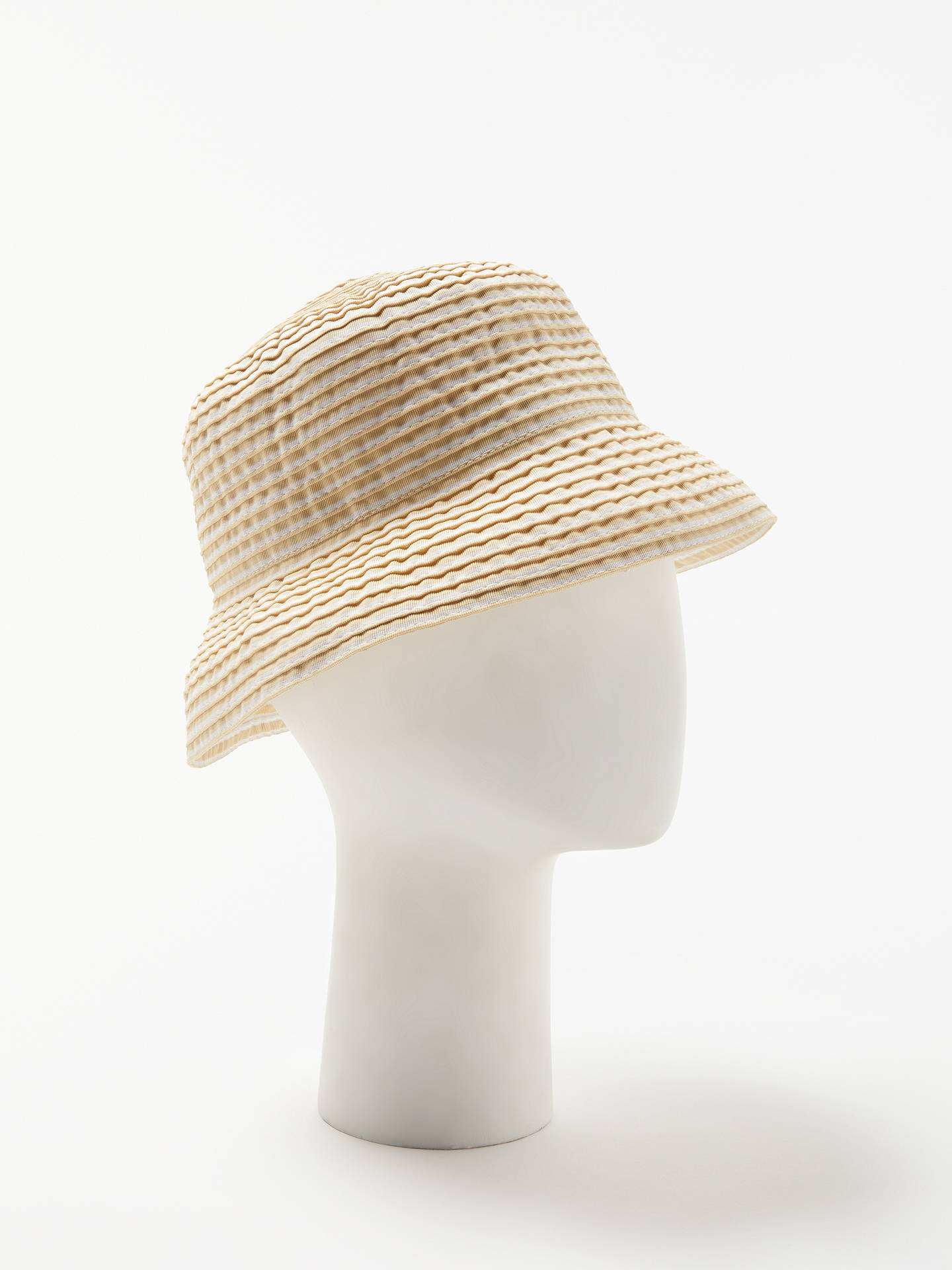 BuyJohn Lewis   Partners Stripe Bucket Hat 7818402d9fe5