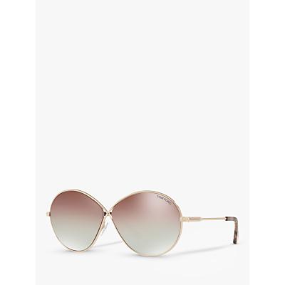 TOM FORD FT0564 Rania-02 Oval Sunglasses