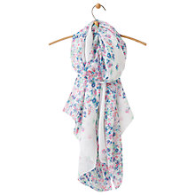 Buy Joules Wensley Garden Ditsy Print Scarf, Cream/Multi Online at johnlewis.com