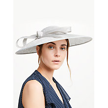 Buy John Lewis Louise Down Brim Disc Bow Detail Occasion Hat Online at johnlewis.com