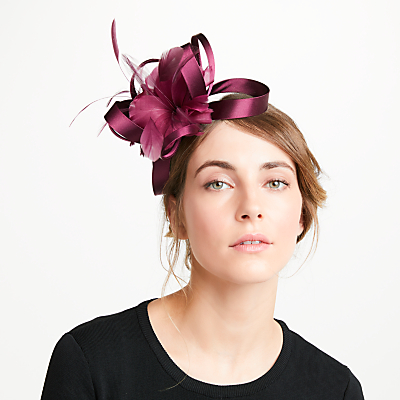 John Lewis Amy Loop Feather Fascinator