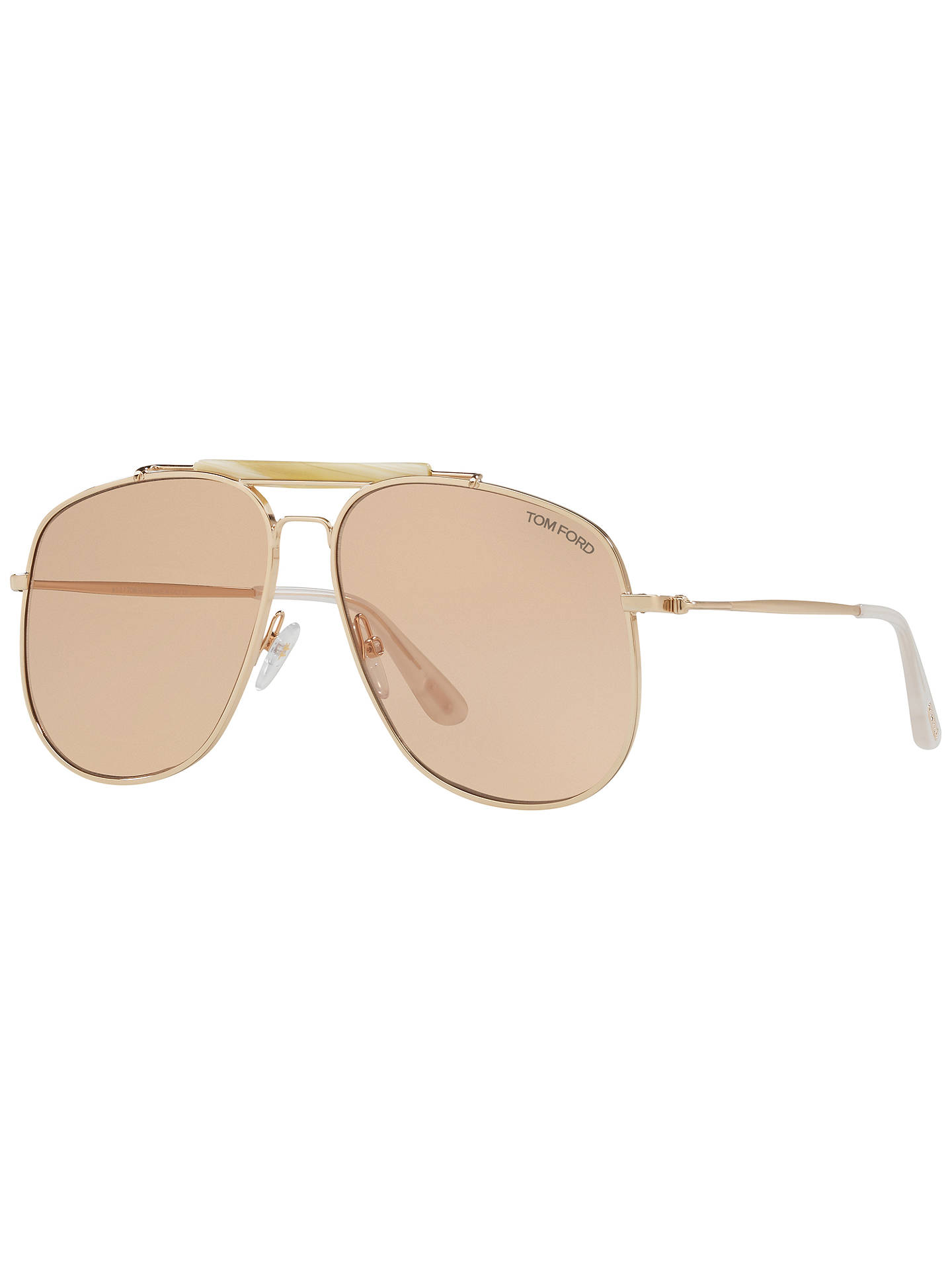 73a071e5ad Buy TOM FORD FT0557 Connor Aviator Sunglasses