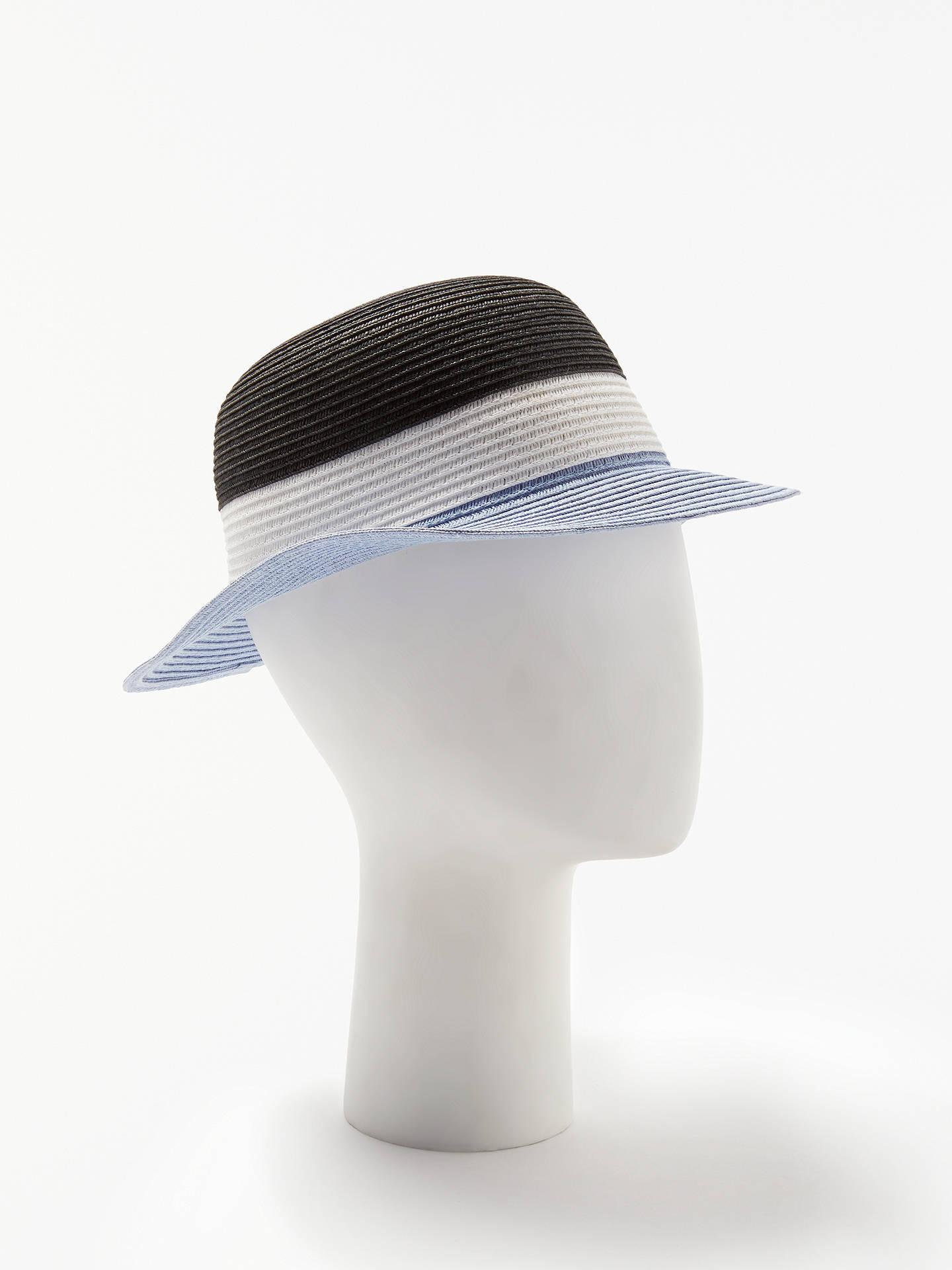 7641ea82e4590 Buy John Lewis   Partners Packable Colour Block Small Brim Sun Hat
