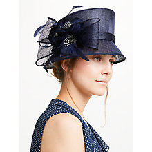 Buy John Lewis Irene Down Brim Spot Feather Flower Occasion Hat Online at johnlewis.com