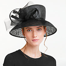 Buy John Lewis Margo Down Brim Crin Bow Occasion Hat Online at johnlewis.com