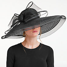 Buy John Lewis Celia Large Brim Crin Bow Occasion Hat Online at johnlewis.com