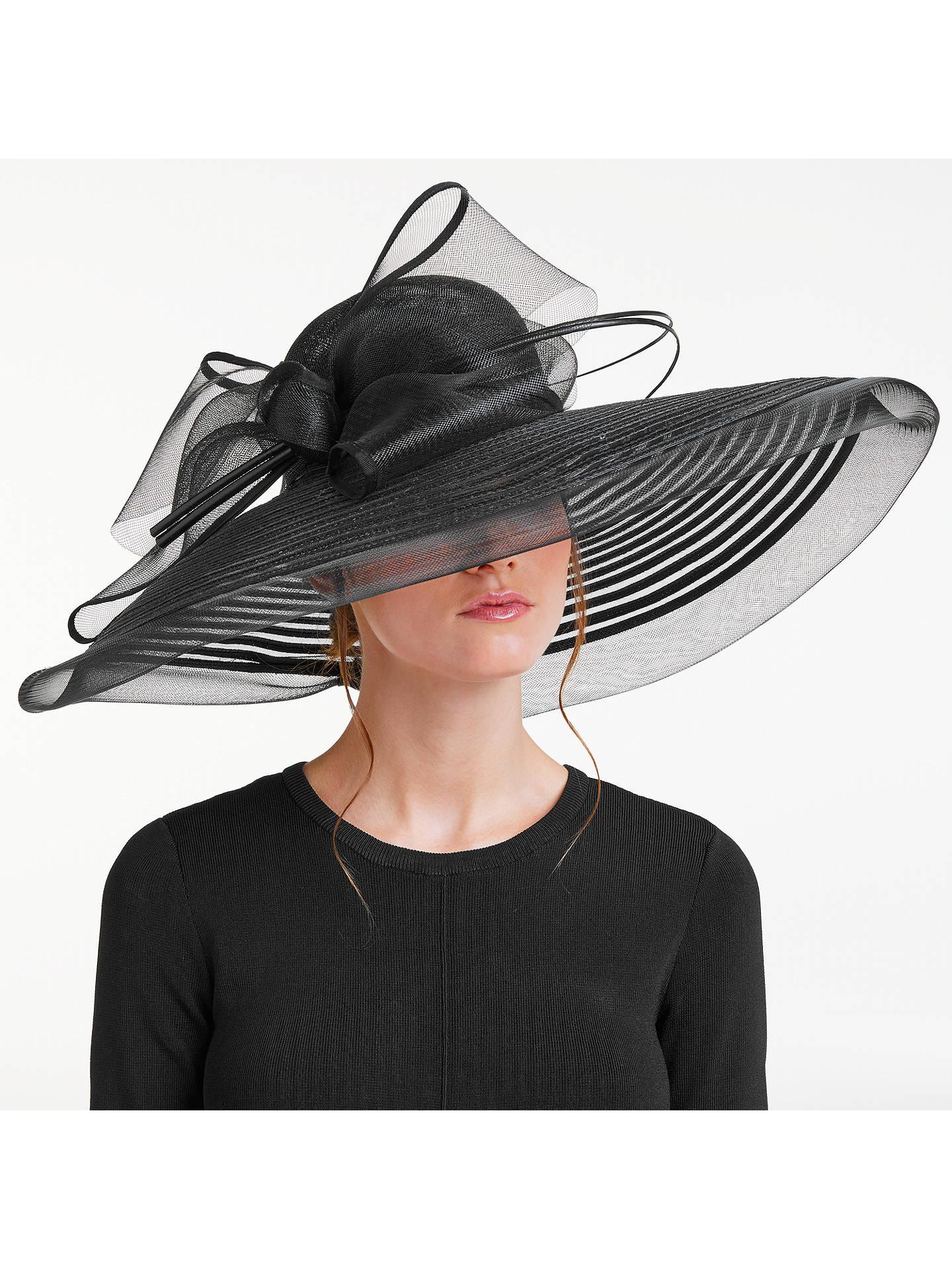 Ladies Black Flower Feather Fascinator Aliceband Hat Hair band Formal Race Royal