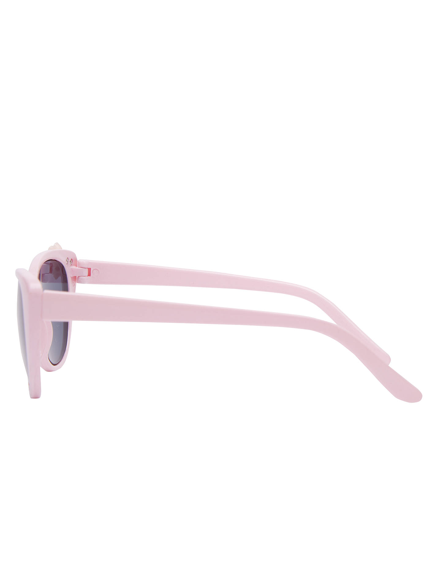 BuyJohn Lewis & Partners Children's Flower Cats Eye Sunglasses, Pink Online at johnlewis.com