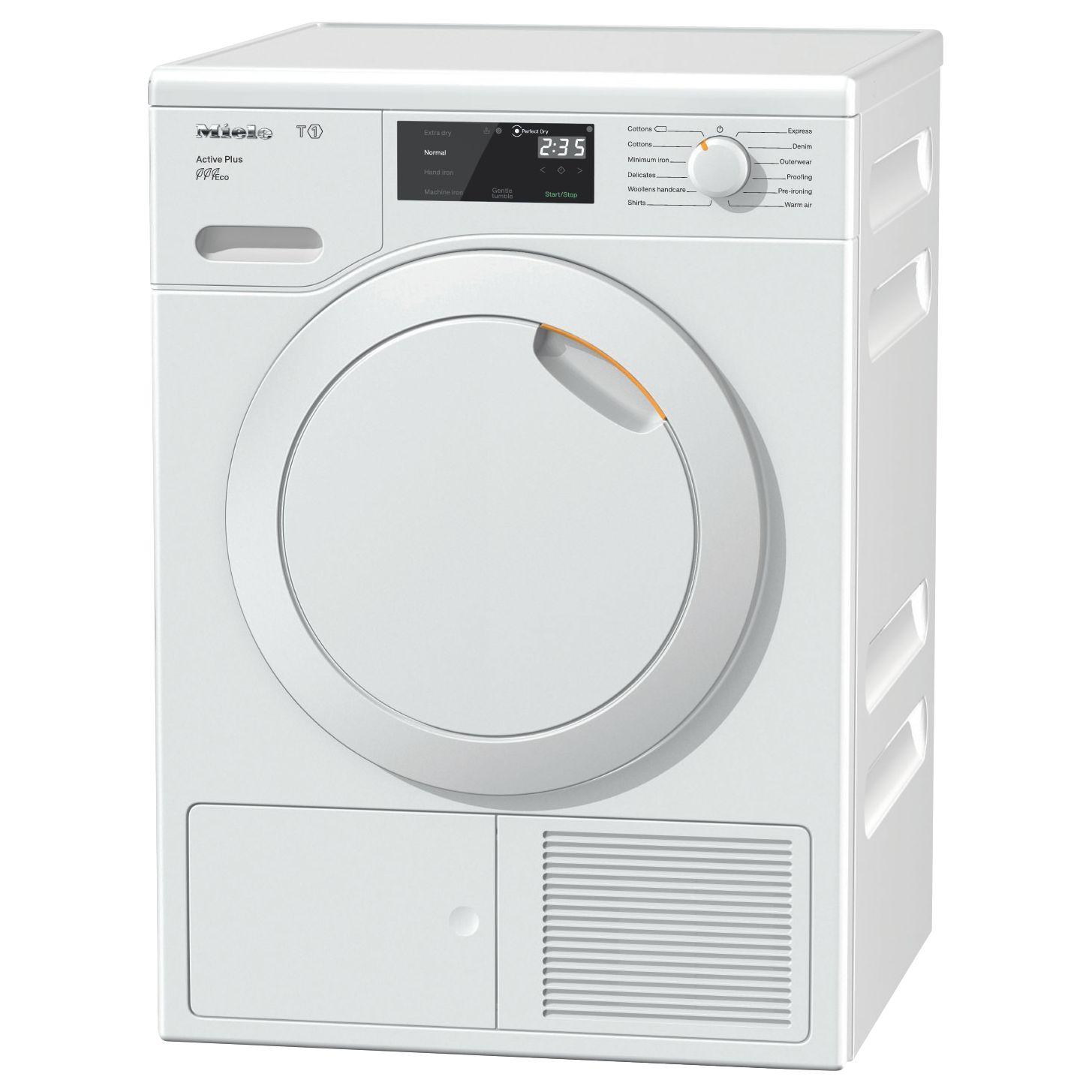 Tumble Dryers Espanol ~ Miele tce wp active plus freestanding heat pump