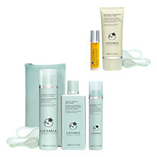 Buy Liz Earle Cleanse & Polish™, Skin Tonic and Repair Moisturiser™, Oily with Hydrate & Smooth Gift Online at johnlewis.com