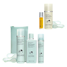 Buy Liz Earle Cleanse & Polish™, Skin Tonic and Repair Moisturiser™, Oily with Brighten & Smooth Gift Online at johnlewis.com