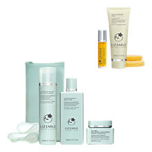 Buy Liz Earle Cleanse & Polish™, Skin Tonic and Repair Moisturiser™, Normal with Purify & Smooth Gift Online at johnlewis.com