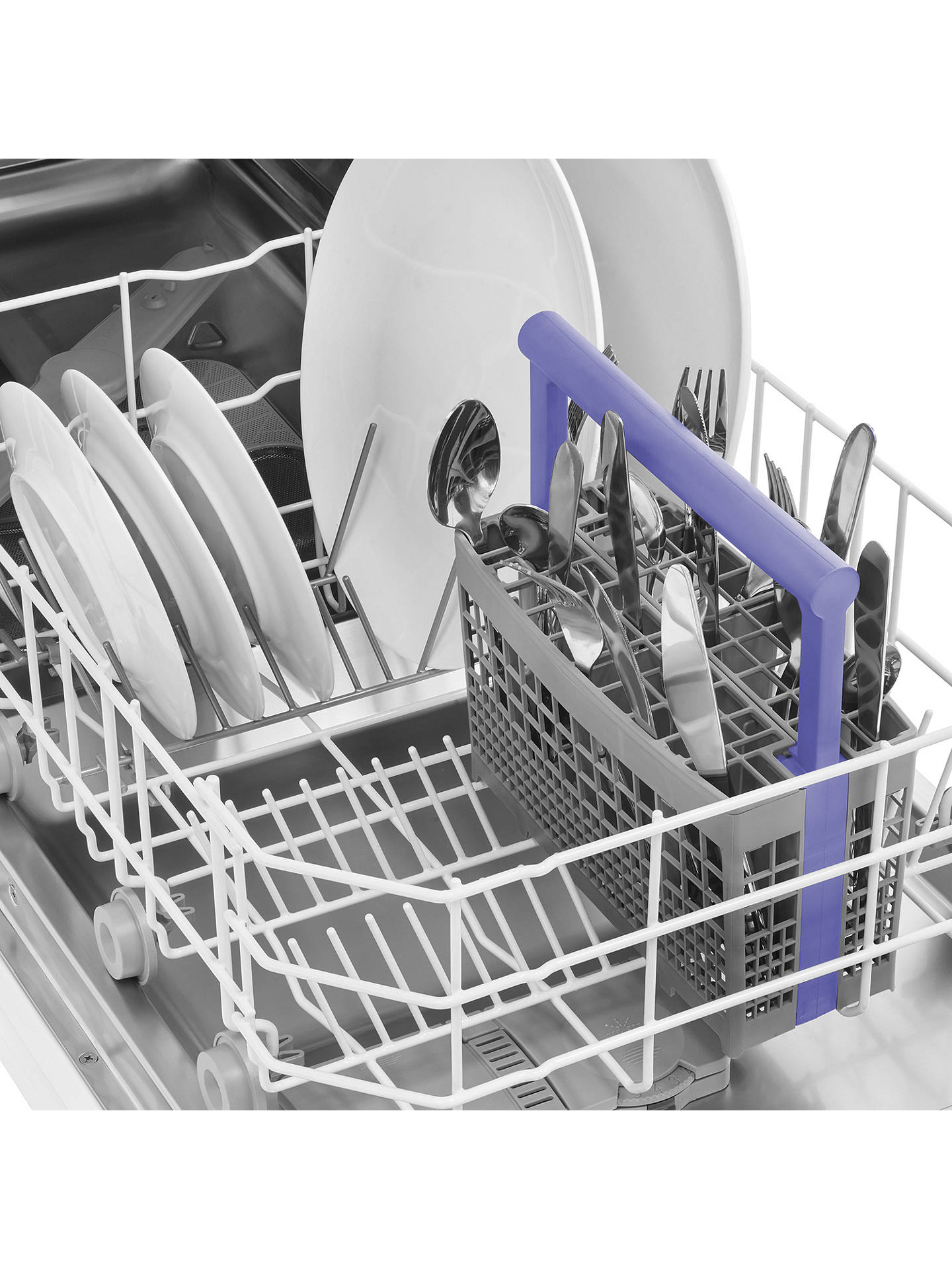 BuyBeko DIS15011  Fully Integrated Slimline Dishwasher, Stainless Steel Online at johnlewis.com