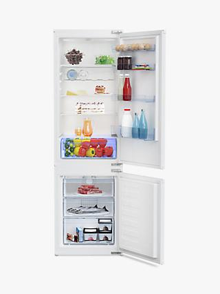 Beko BCB7030F Integrated Fridge Freezer, A+ Energy Rating, 54cm Wide, White