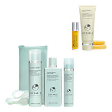 Buy Liz Earle Cleanse & Polish™, Skin Tonic and Repair Moisturiser™, Oily with Purify & Smooth Gift Online at johnlewis.com