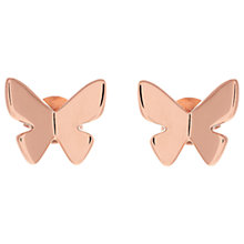 Buy Olivia Burton Butterfly Stud Earrings Online at johnlewis.com