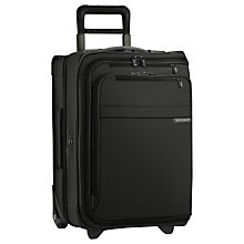 Buy Briggs & Riley Domestic Carry-On Upright Garment Bag, Black Online at johnlewis.com