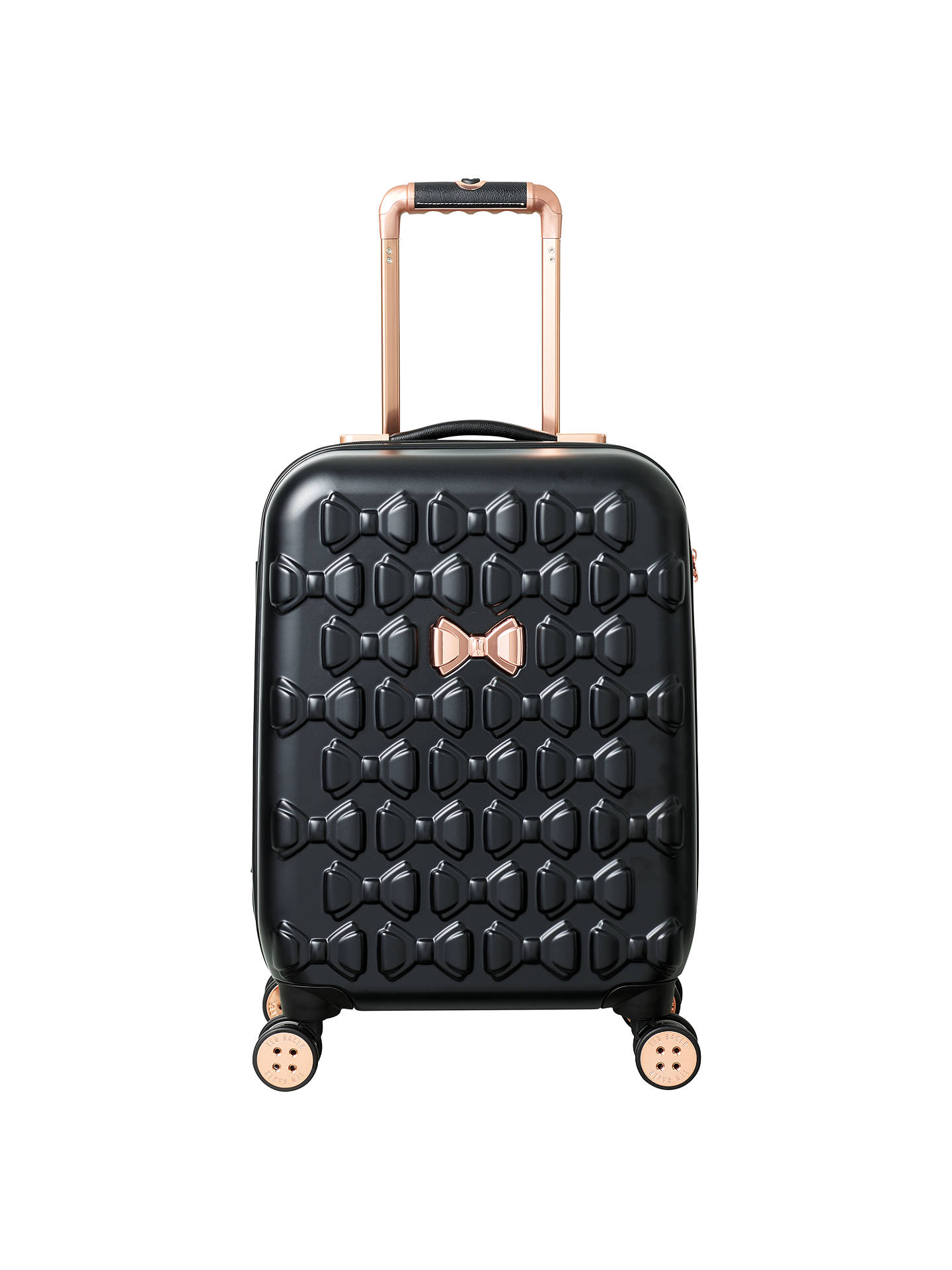 8456be6bbb4845 Ted Baker Beau 54cm 4-Wheel Cabin Suitcase at John Lewis   Partners