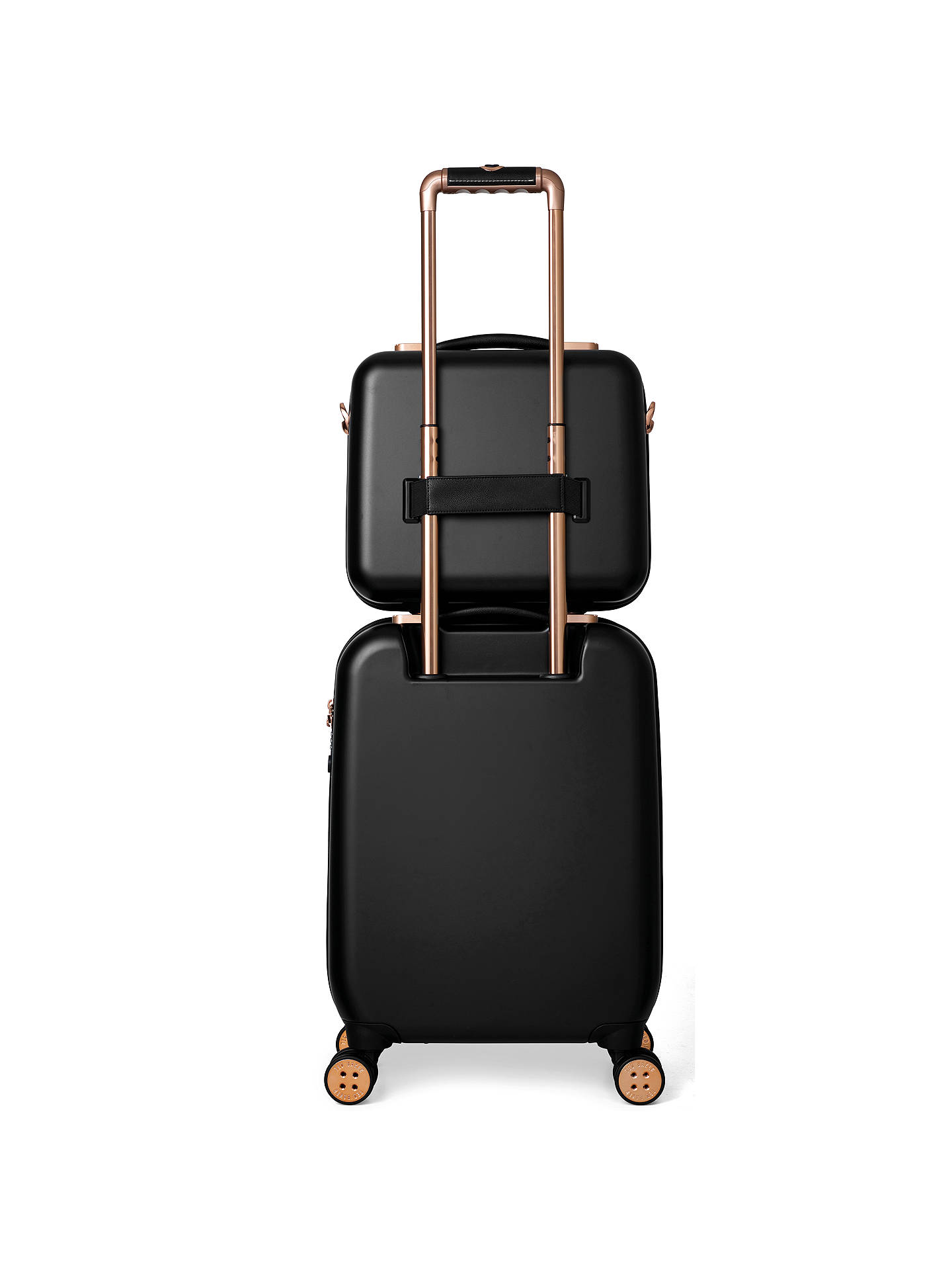 0780693986b1 Ted Baker Beau 54cm 4-Wheel Cabin Suitcase at John Lewis   Partners