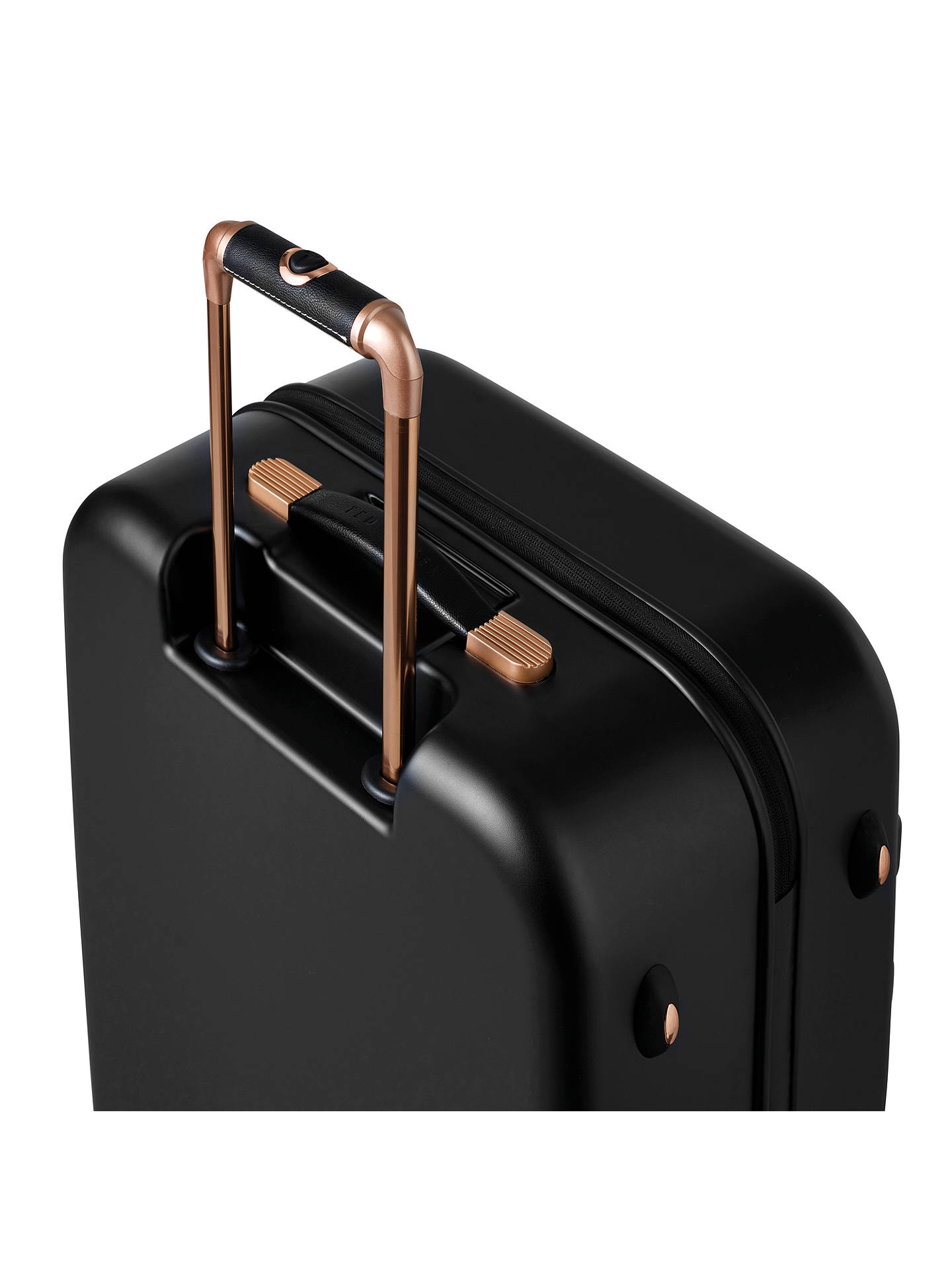 62bef7bcd021 Ted Baker Beau 54cm 4-Wheel Cabin Suitcase at John Lewis   Partners