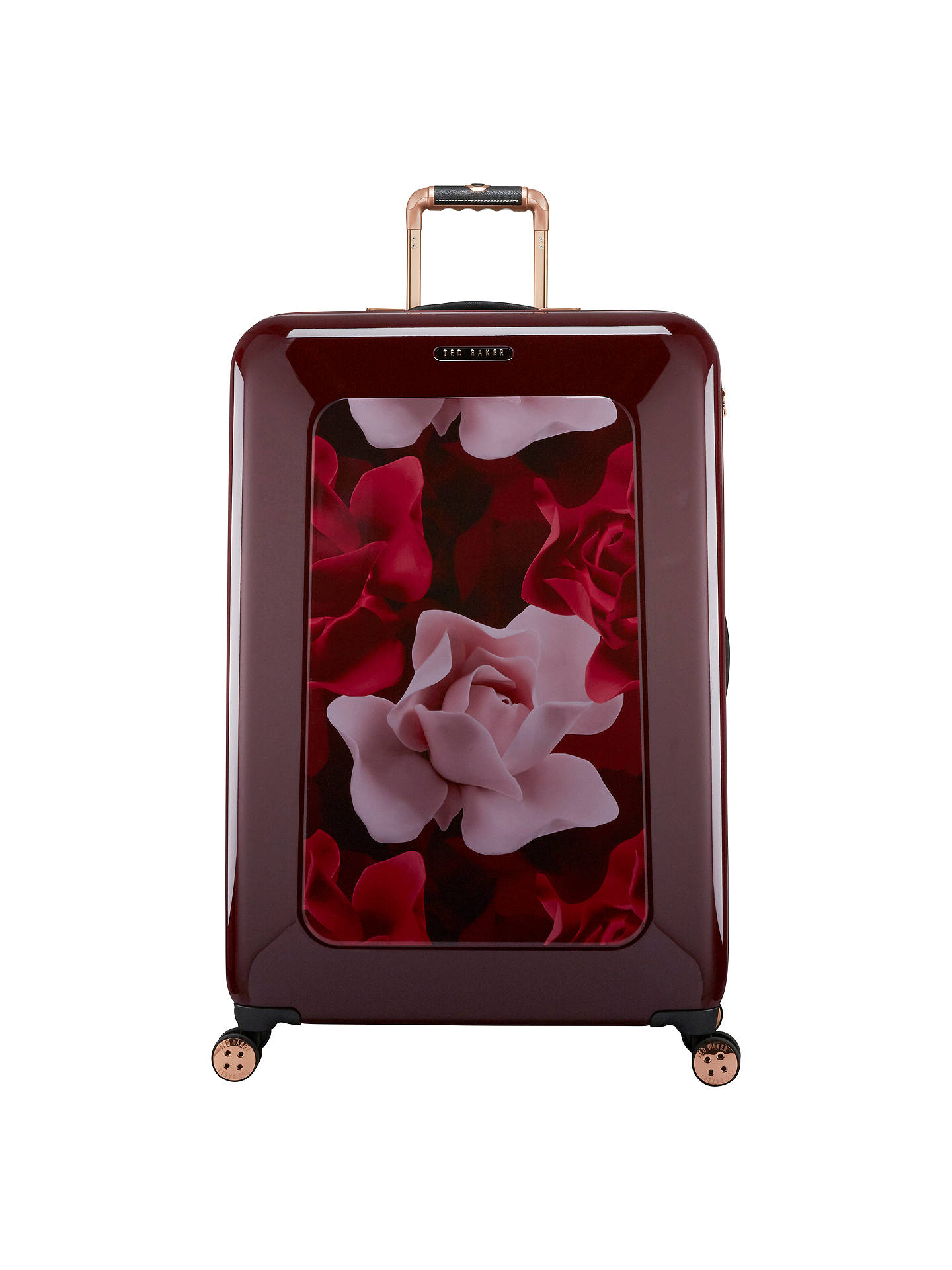 3267d65de Ted Baker Take Flight Porcelain Rose 79cm 4-Wheel Large Suitcase ...