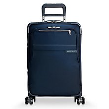 Buy Briggs & Riley Baseline Carry-On Expandable 4-Wheel 56cm Cabin Suitcase Online at johnlewis.com