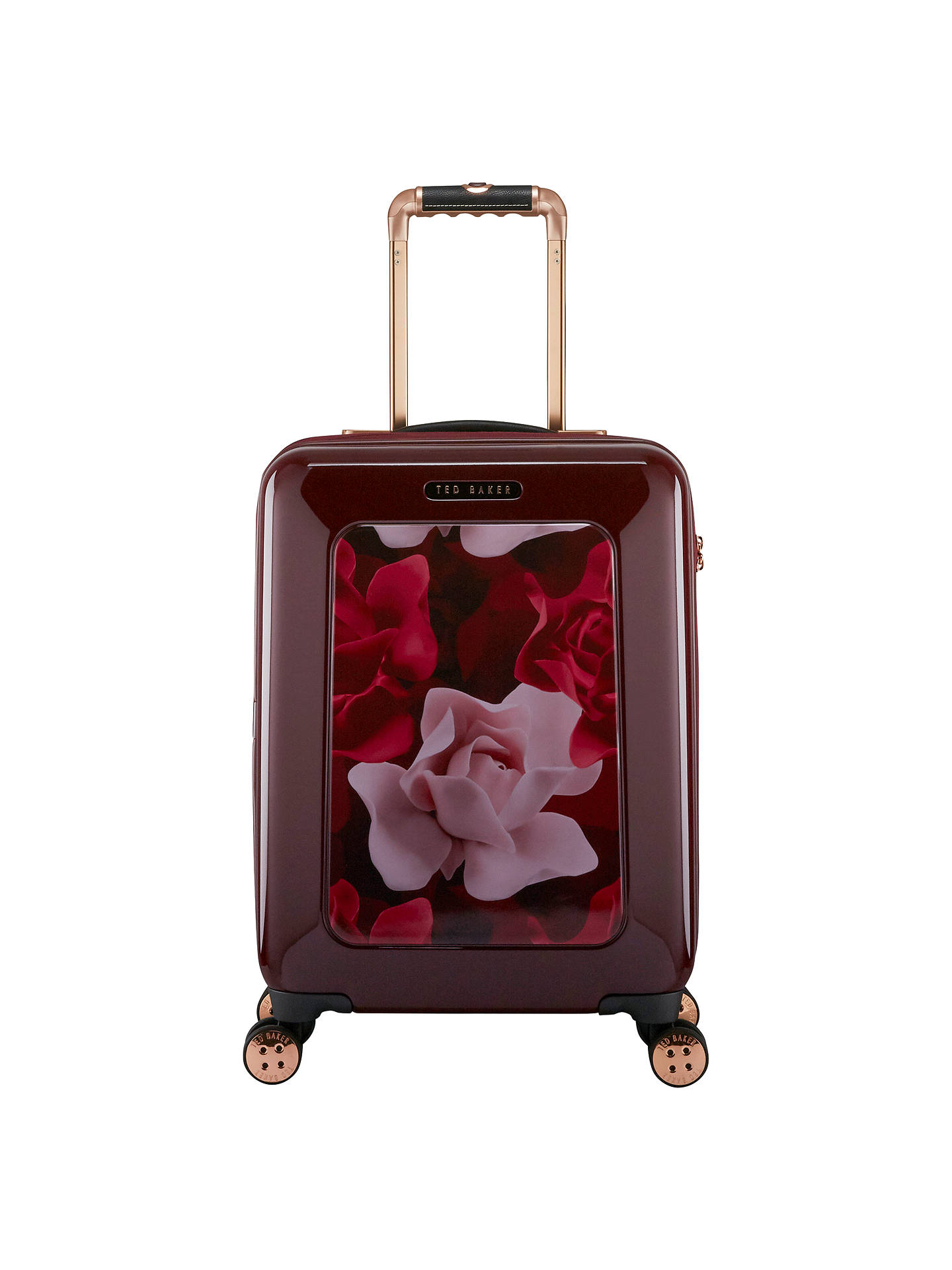 12e5d8f06 Ted Baker Take Flight Porcelain Rose 54cm 4-Wheel Cabin Suitcase ...