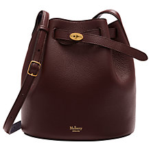 Buy Mulberry Abbey Small Classic Grain Leather Bucket Bag Online at johnlewis.com