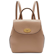 Buy Mulberry Bayswater Leather Mini Backpack Online at johnlewis.com