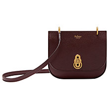 Buy Mulberry Mini Amberley Leather Satchel Online at johnlewis.com