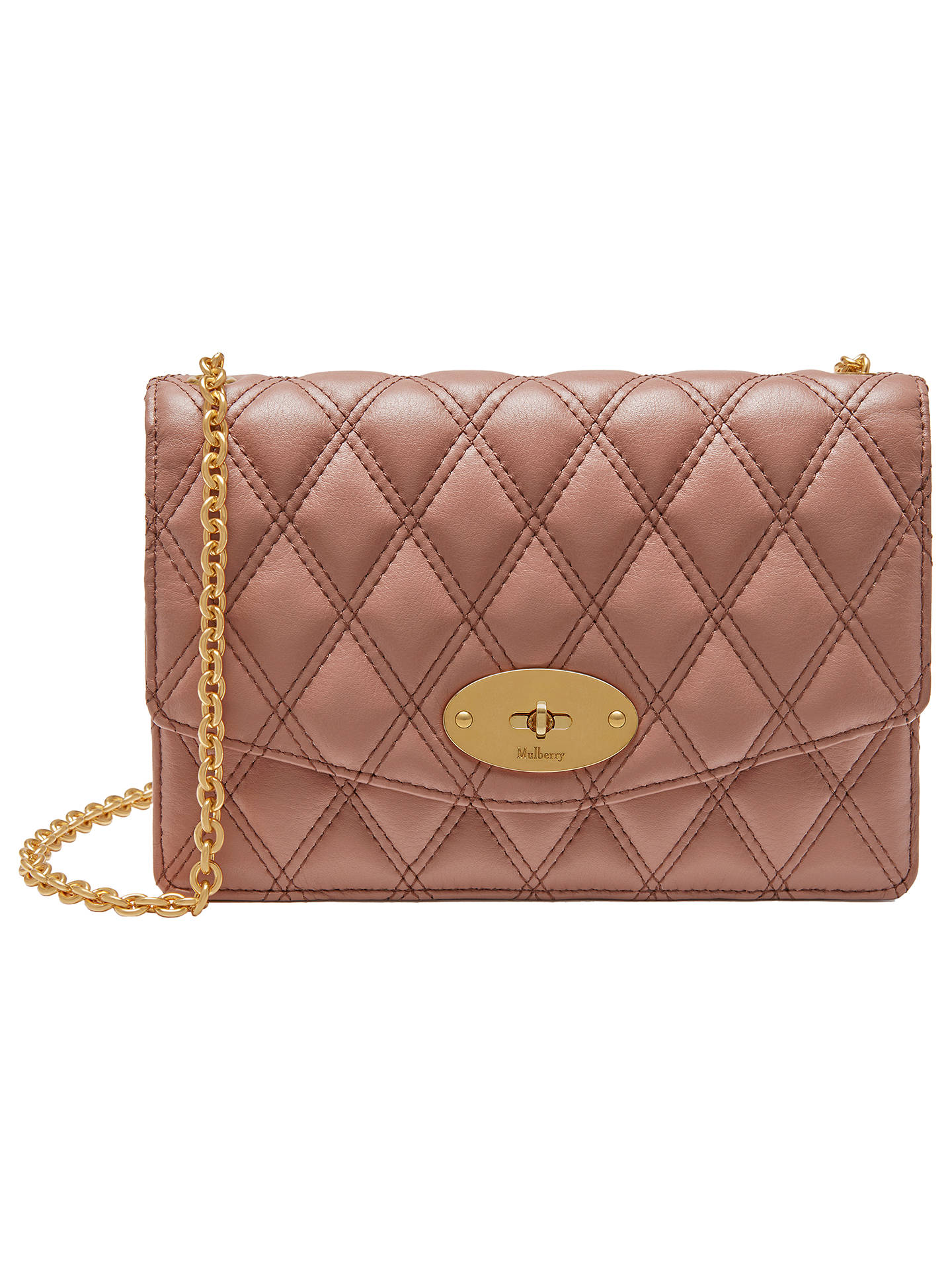 Mulberry Darley Quilted Grain Veg Tan
